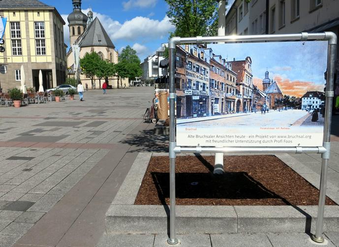 Aluminium Bannerrahmen Freistehend - Rahmenaufsteller Für Schilder